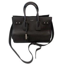 Saint Laurent-Handbags-Brown