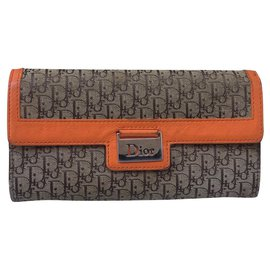 Dior-Purses, wallets, cases-Beige,Orange
