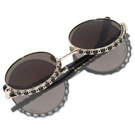 Chanel-Sunglasses-Brown,Black