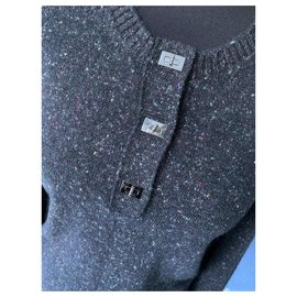 Chanel-2.55 Lock Cashmere Sweater-Multiple colors