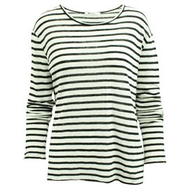 T By Alexander Wang-Striped sweater-Black