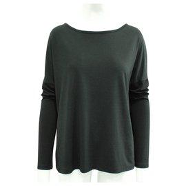 T By Alexander Wang-black blouse-Black