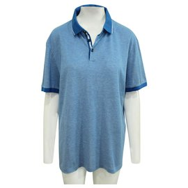 Hugo Boss-Blue Polo Shirt-Blue