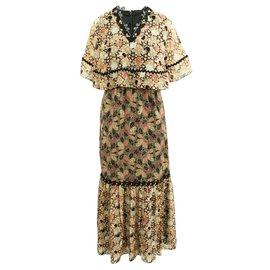 Anna Sui-Multicolor Maxi Dress-Multiple colors