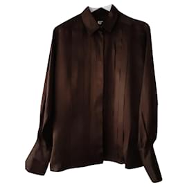 Chanel-Chanel blouse-Brown