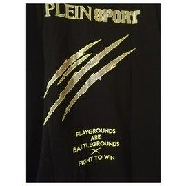 Philipp Plein-Plein Sport T-shirt-Black,Green