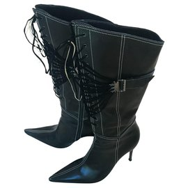 Casadei-Boots-Black