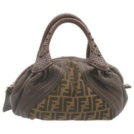 Fendi-Fendi handbag-Brown