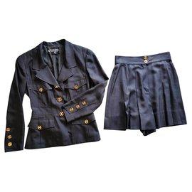 Chanel-pantsuit-Black