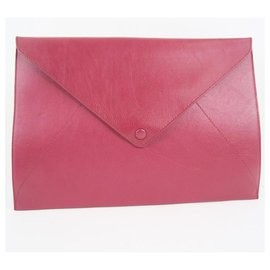 Delvaux-Delvaux Handbag-Red