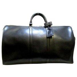 Louis Vuitton-Louis Vuitton Keepall 55-Noir