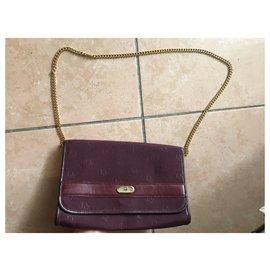 Dior-Handbags-Dark red