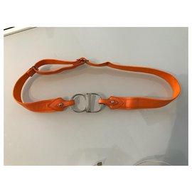 Dior-Belts-Orange