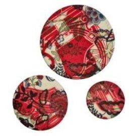Hermès-Hermes Petit H brooches-Black,White,Red