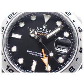 Rolex-ROLEX EXPLORER II black 216570 Mens-Black