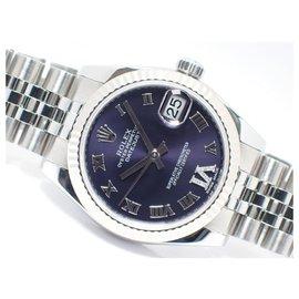 Rolex-Rolex Datejust31 VI diamond Aubergine Dial Genuine goods Mens-Blue