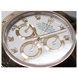 Rolex-ROLEX Daytona conbination white8P diamond F series Mens-White