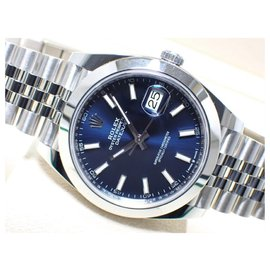 Rolex-Rolex Datejust41 Jubilee Bracelet blue 126300 Mens-Blue