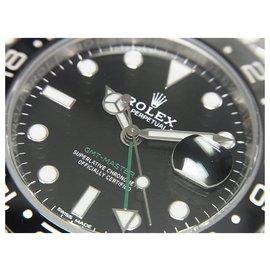 Rolex-ROLEX GMT MasterII Ref.116710LN random series '19 receipt Mens-Black