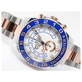 Rolex-ROLEX YACHT-MASTERII ERG conbination 116681 Mens-Blue