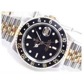 Rolex-ROLEX GMT MasterII conbination black 16713 U series Mens-Black