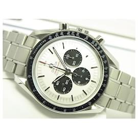 Omega-OMEGA Speedmaster Tokyo2020 limited edition silver x black Genuine goods Mens-Black