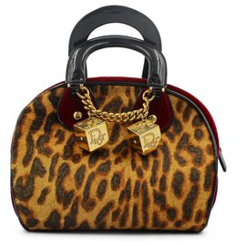 Dior-Dior Gamble Hand Bag-Brown