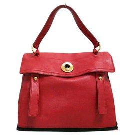 Saint Laurent-Saint Laurent Handbag-Red
