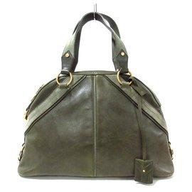 Saint Laurent-Saint Laurent Handbag-Khaki