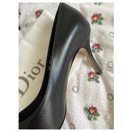 Christian Dior-Dior cherie pointy pump-Black