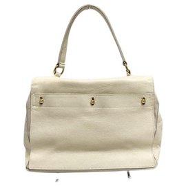 Saint Laurent-Saint Laurent Handbag-White