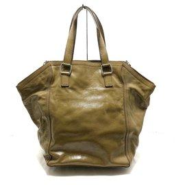 Saint Laurent-Saint Laurent Shoulder bag-Khaki