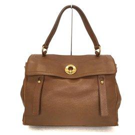 Saint Laurent-Saint Laurent Handbag-Brown