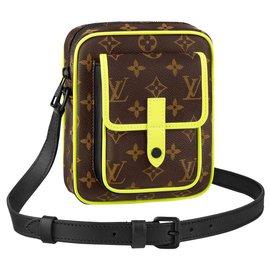Louis Vuitton-LV Christopher wearable wallet yellow-Multiple colors