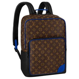 Louis Vuitton-LV Dean backpack with blue-Brown