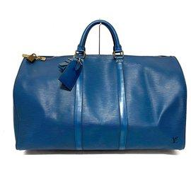 Louis Vuitton-Louis Vuitton Keepall 50-Bleu