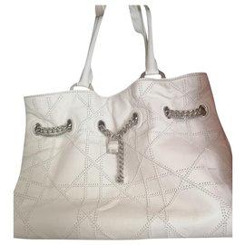 Dior-Handbags-White