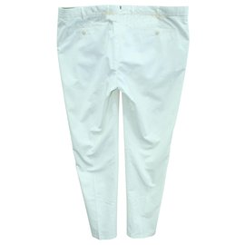 Loro Piana-Ivory Pants-White,Cream