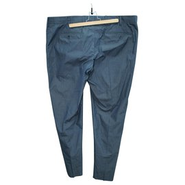 Loro Piana-Grey Office Pants-Grey