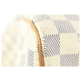 Louis Vuitton-Fin de série Damier Azur Keepall 50 sac de marin-Autre