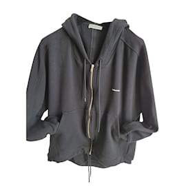 Balenciaga-Balenciaga black sweatshirt-Black