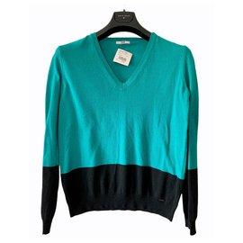 Iceberg-Sweaters-Black,Green