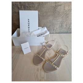 Givenchy-Givenchy sandals-Cream