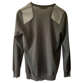 Trussardi-Sweaters-Black