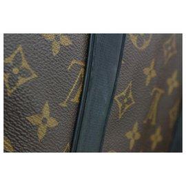 Louis Vuitton-Bandoulière étanche Keepall 55 Sac de voyage avec sangle-Autre