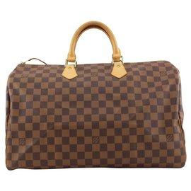 Louis Vuitton-Ultra rare 1 ou du 1 Centenaire Damier Ebene Speedy 40 Sac-Autre