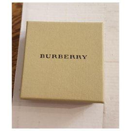Burberry-Burberry leather chain bracelet-Brown,Golden