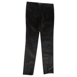 Balenciaga-Pants, leggings-Green