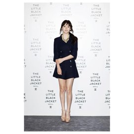 Chanel-Famous Tweed Playpsuit-Navy blue
