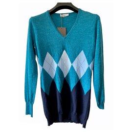Ballantynes-Sweaters-Black,Blue